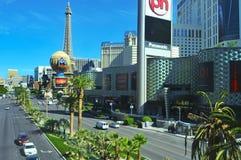 De strook in Las Vegas, Verenigde Staten stock afbeelding