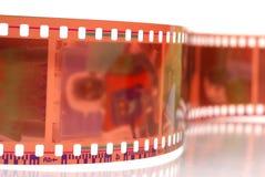 De strook van de camerafilm Stock Afbeelding