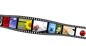 De strook van de film Stock Fotografie