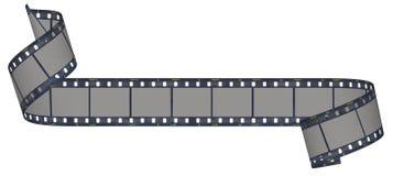 De strook van de film en van de camera Royalty-vrije Stock Foto's