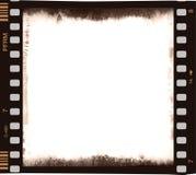 De strook van de film met leeg centraal deel in kleur Royalty-vrije Stock Afbeelding