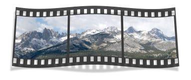 De Strook van de Film van de Waaier van Ritter Royalty-vrije Stock Foto's