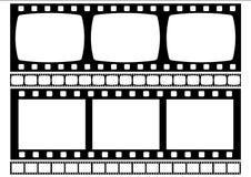 De strook van de film (Vector) Royalty-vrije Stock Fotografie