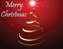 De strook van de kerstboom Stock Afbeeldingen