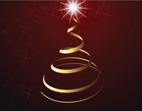 De strook van de kerstboom Royalty-vrije Stock Foto