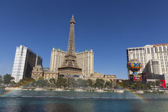 De strook van Las Vegas in Las Vegas, NV op 20 Mei, 2013 Royalty-vrije Stock Afbeeldingen