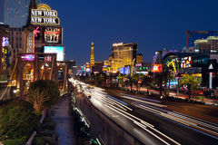 De Strook van Vegas van Las. Stock Afbeeldingen