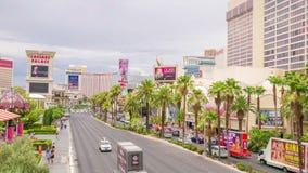 De Strook van Vegas van Las stock videobeelden