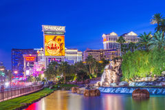 De Strook van Vegas van Las Stock Fotografie