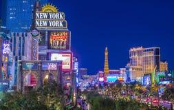De Strook van Vegas van Las Stock Afbeelding