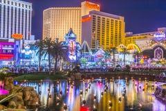 De Strook van Vegas van Las royalty-vrije stock foto's