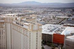 De Strook van Vegas van Las bij dag stock afbeeldingen