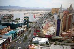 De Strook van Vegas van Las bij dag royalty-vrije stock afbeelding
