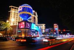 De strook van Vegas van Las bij nacht royalty-vrije stock foto's