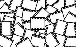 De strookachtergrond van de film royalty-vrije illustratie