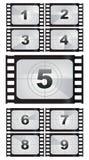 De achtergronden van de filmstrook Royalty-vrije Stock Foto