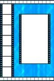 Het kader van de filmstrook Stock Afbeelding