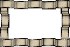 De strookframe van de film Royalty-vrije Stock Afbeeldingen