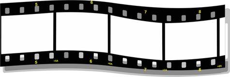 De strookgolf van de film vector illustratie