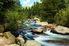 De stroom van de berg Royalty-vrije Stock Foto's