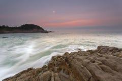 De stroom van de golven Stock Foto's