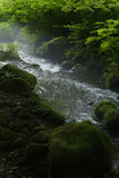 De stroom van de Kitanizawaberg Royalty-vrije Stock Foto's
