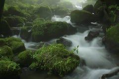 De stroom van de Kitanizawaberg royalty-vrije stock afbeeldingen