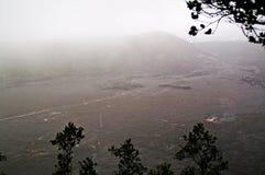 De stroom van de lava stock afbeeldingen