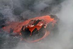 De stroom van de lava Royalty-vrije Stock Foto's