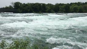 De Stroom van de Niagararivier stock video