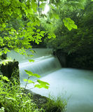 De stroom van de rivier Royalty-vrije Stock Foto's