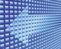 De stroom van gegevens Stock Afbeelding