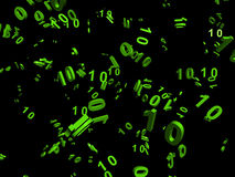 De stroom van gegevens Royalty-vrije Stock Afbeelding