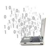De stroom van gegevens? Royalty-vrije Stock Afbeelding