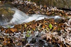 De stroom van het ijs Stock Foto's