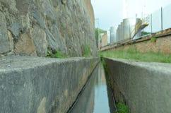 De stroom van het water Stock Afbeeldingen