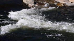 De stroom van het water stock video