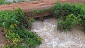 De stroom van het water stock footage