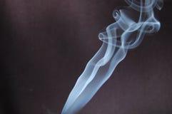 De stroom van rook Stock Afbeeldingen