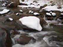 De Stroomversnelling van de rivier Stock Fotografie