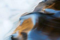 De Stroomversnelling van weinig Rivier Royalty-vrije Stock Foto's