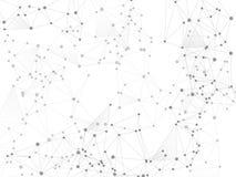 De structuur cybernetisch concept van de Gometricvlecht vector illustratie
