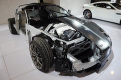 de structuur van Aston Martin DB9 Royalty-vrije Stock Foto