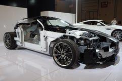 De structuur van Aston Martin DB9 Stock Foto's