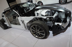 De structuur van Aston Martin DB9 Stock Afbeeldingen