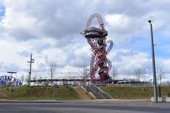 De structuur van de Baanobservatie in Londen Royalty-vrije Stock Foto's