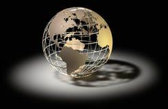 De Structuur van de aarde Royalty-vrije Stock Afbeelding