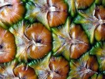 De structuur van de ananas Stock Afbeeldingen