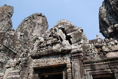 De structuur van de Angkorsteen royalty-vrije stock afbeeldingen