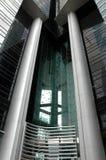 De structuur van de architectuur Stock Foto